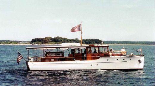 1929 Classic Power Yacht 50' Elco Hardtop