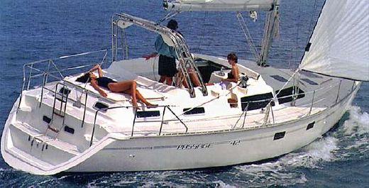 1996 Hunter Passage 42