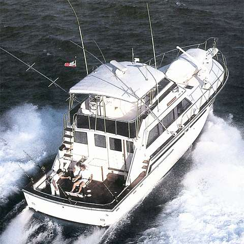 58' Bertram 58 Convertible+Boat for sale!