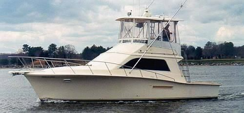 1991 Pacemaker 37 Convertible Sportfish