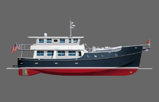 2015 Great Harbour Trawler GH74