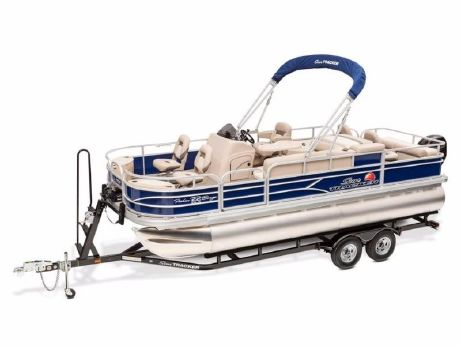 2017 Sun Tracker FISHIN' BARGE® 22 DLX