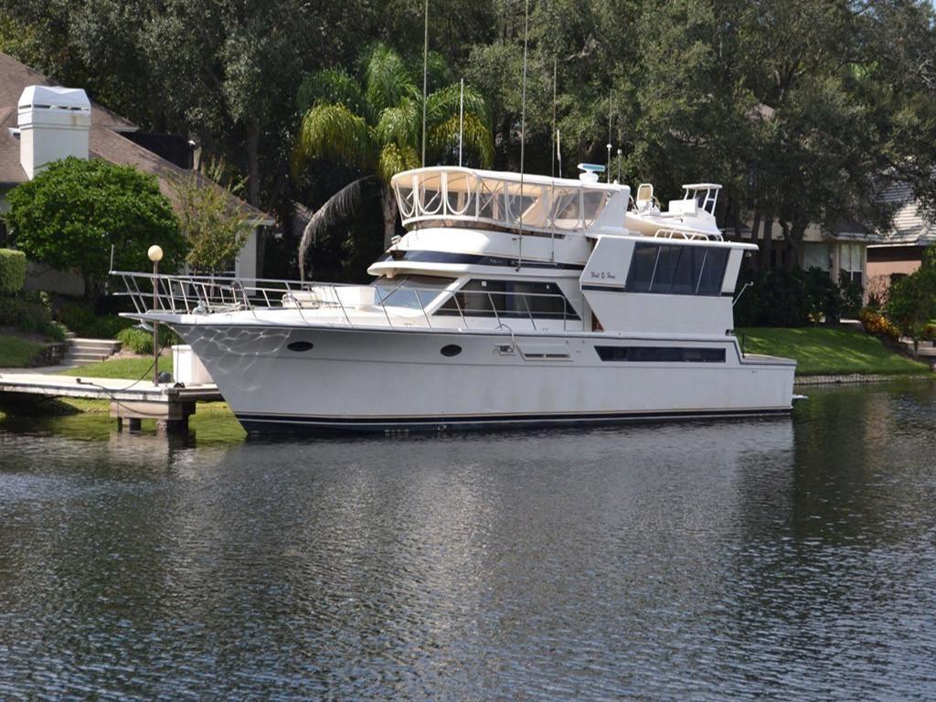 1989 californian cockpit motoryacht power boat for sale. Black Bedroom Furniture Sets. Home Design Ideas