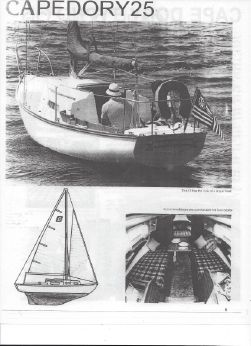 1981 Cape Dory Sloop