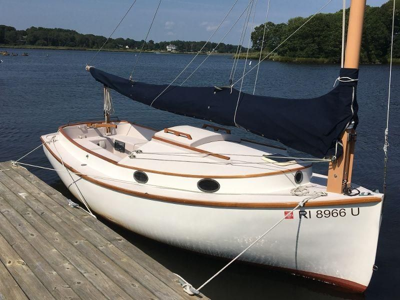 2002 menger 19 catboat