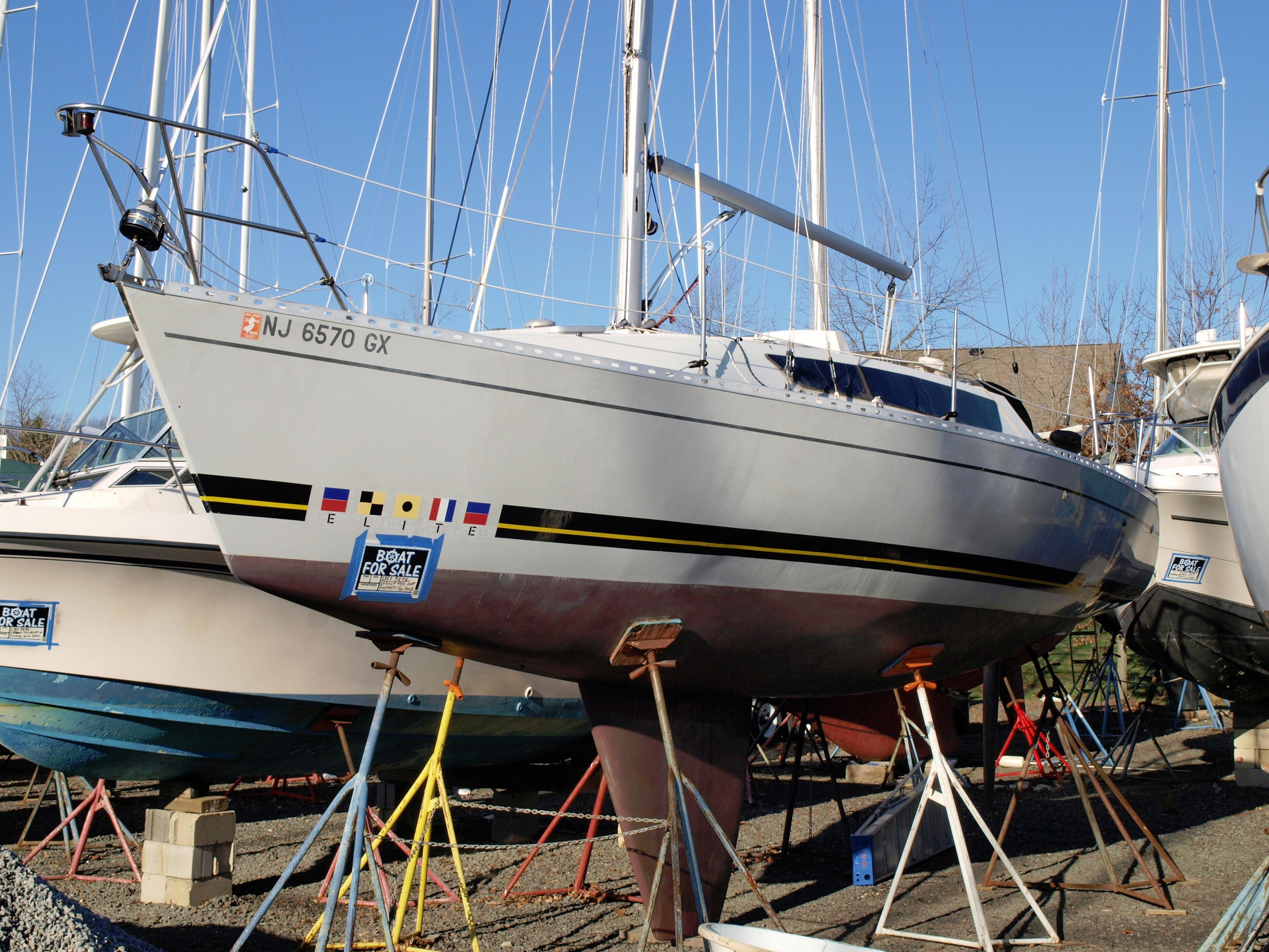 1986 Kirie Elite 30s Sail Boat For Sale Www Yachtworld Com
