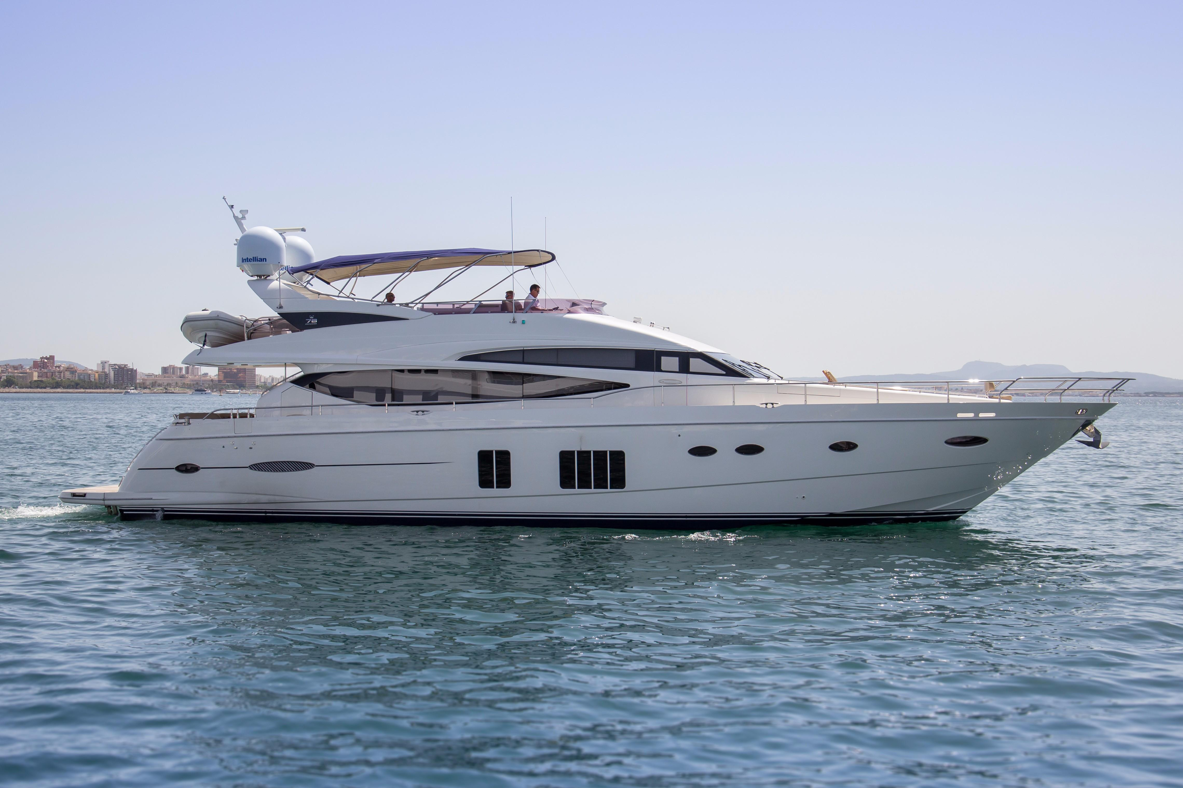 princess 78 motor yacht boats for sale