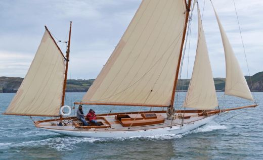 1895 Stow And Son Gaff Yawl 1895