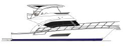 2016 Riviera 53 Open Flybridge - Twin IPS