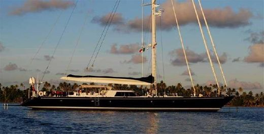 1994 Royal Huisman 34m luxury sailing yacht