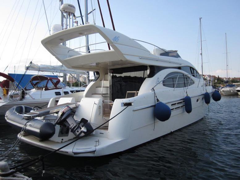 2000 azimut 46 fly power boat for sale. Black Bedroom Furniture Sets. Home Design Ideas