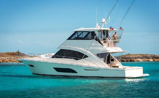 2017 Riviera 57 Enclosed Flybridge- AVAILABLE NOW!