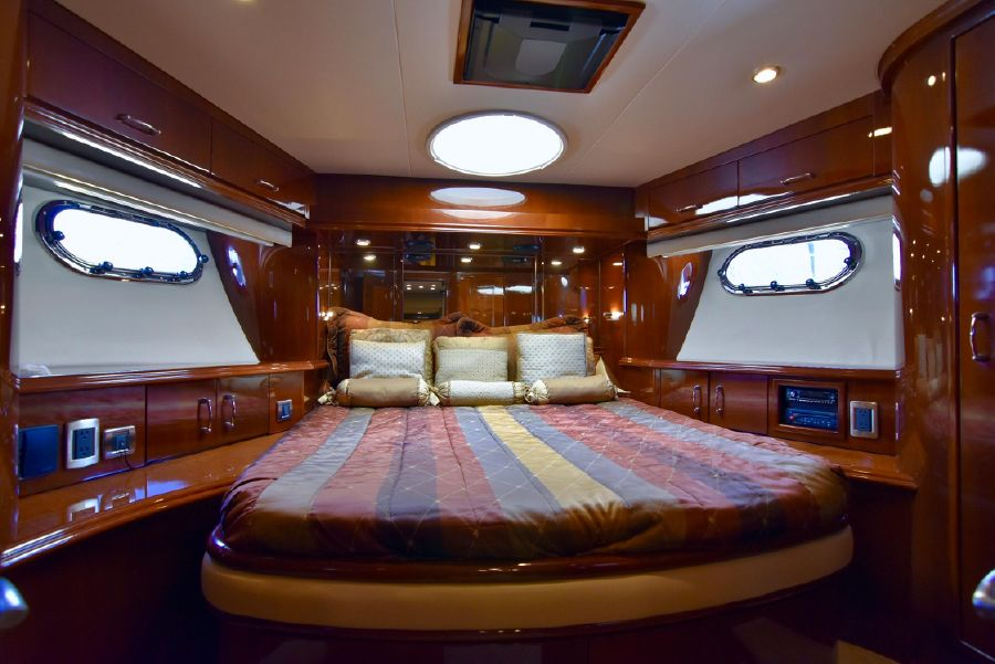 Marquis 59 Pilothouse Forward Stateroom