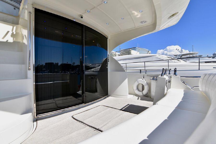 Marquis 59 Pilothouse Aft Deck