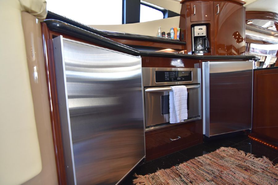 Marquis 59 Pilothouse Galley Refrigerators