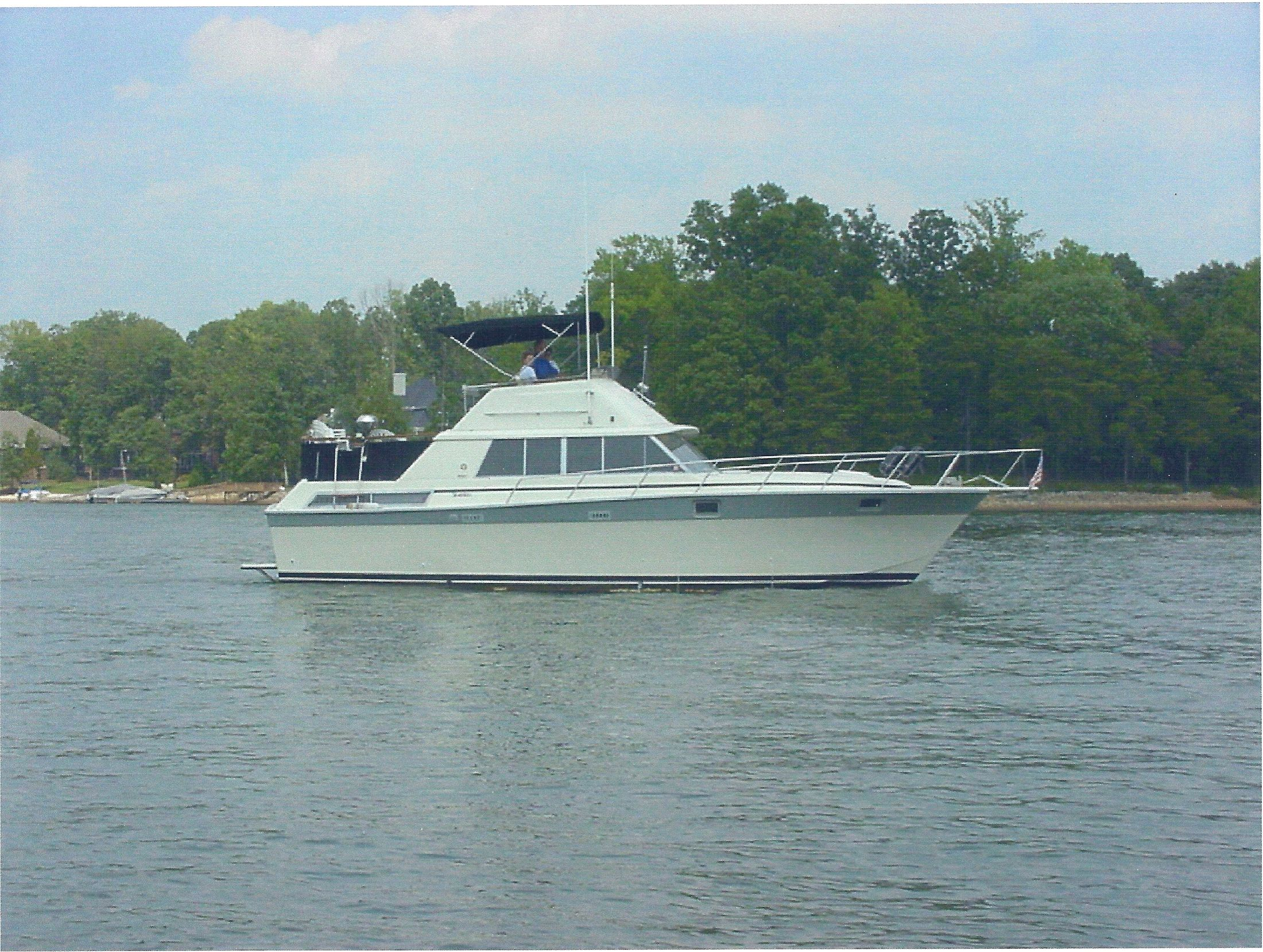 40 ft 1986 silverton aft cabin my