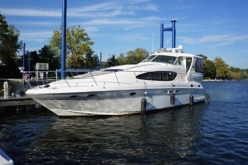 2002 sea ray 480 motor yacht power boat for sale for Sea ray motor yacht for sale