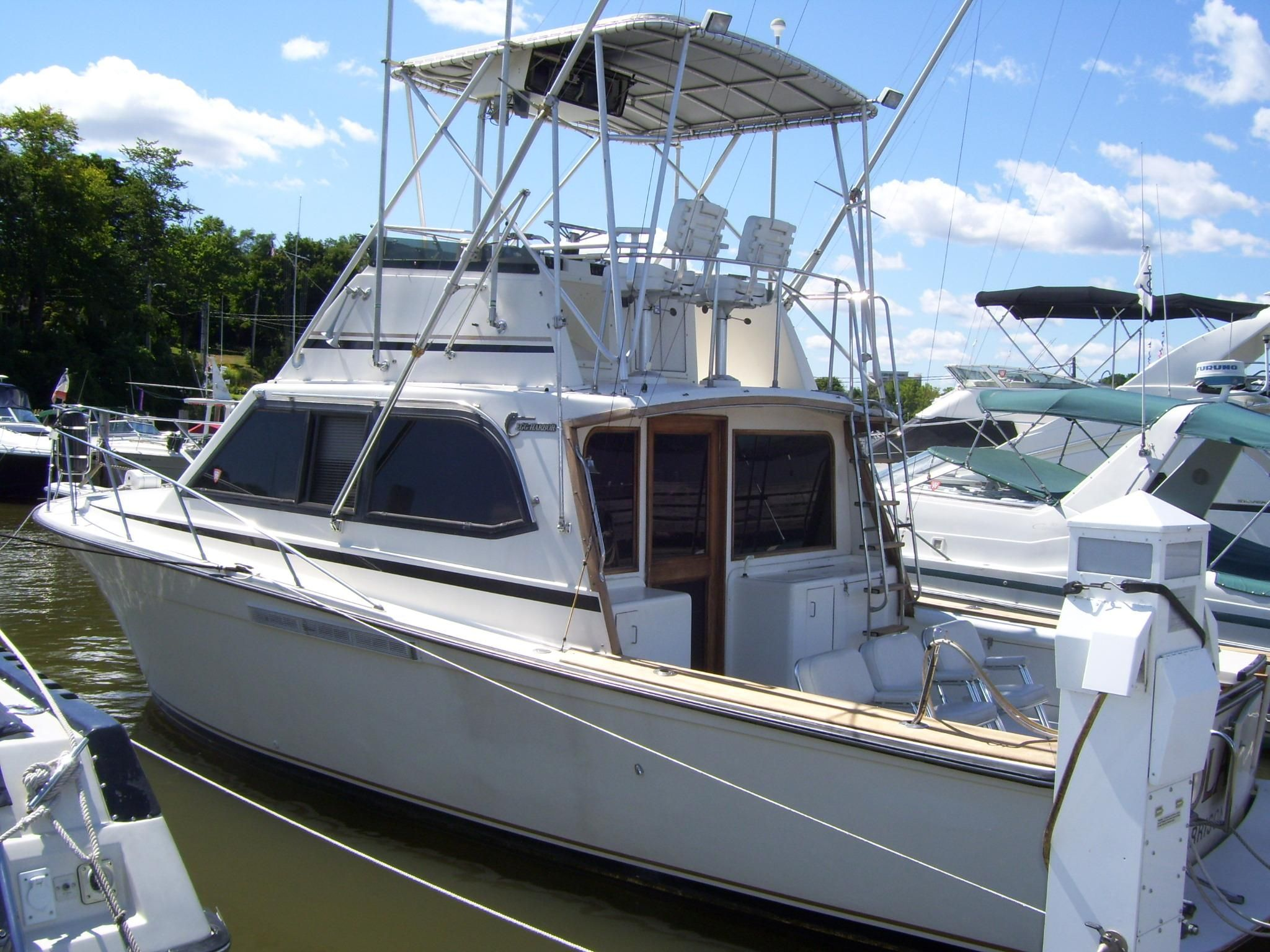 1989 egg harbor sport fish power new and used boats for sale for Used sport fishing boats for sale