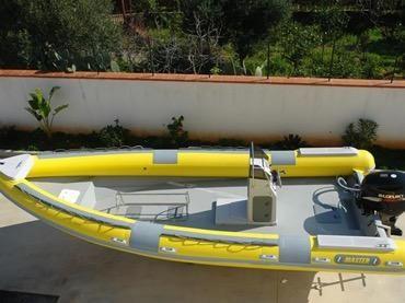 2017 Master Gommoni 750 Diving/Work Rib