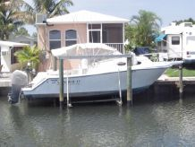 1993 Mako 293 Tournament Edition with '06 Twin Yamaha Four Strokes 250 hp and Triple Axle Trailer
