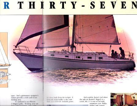 1980 Hunter 37 Cherubini