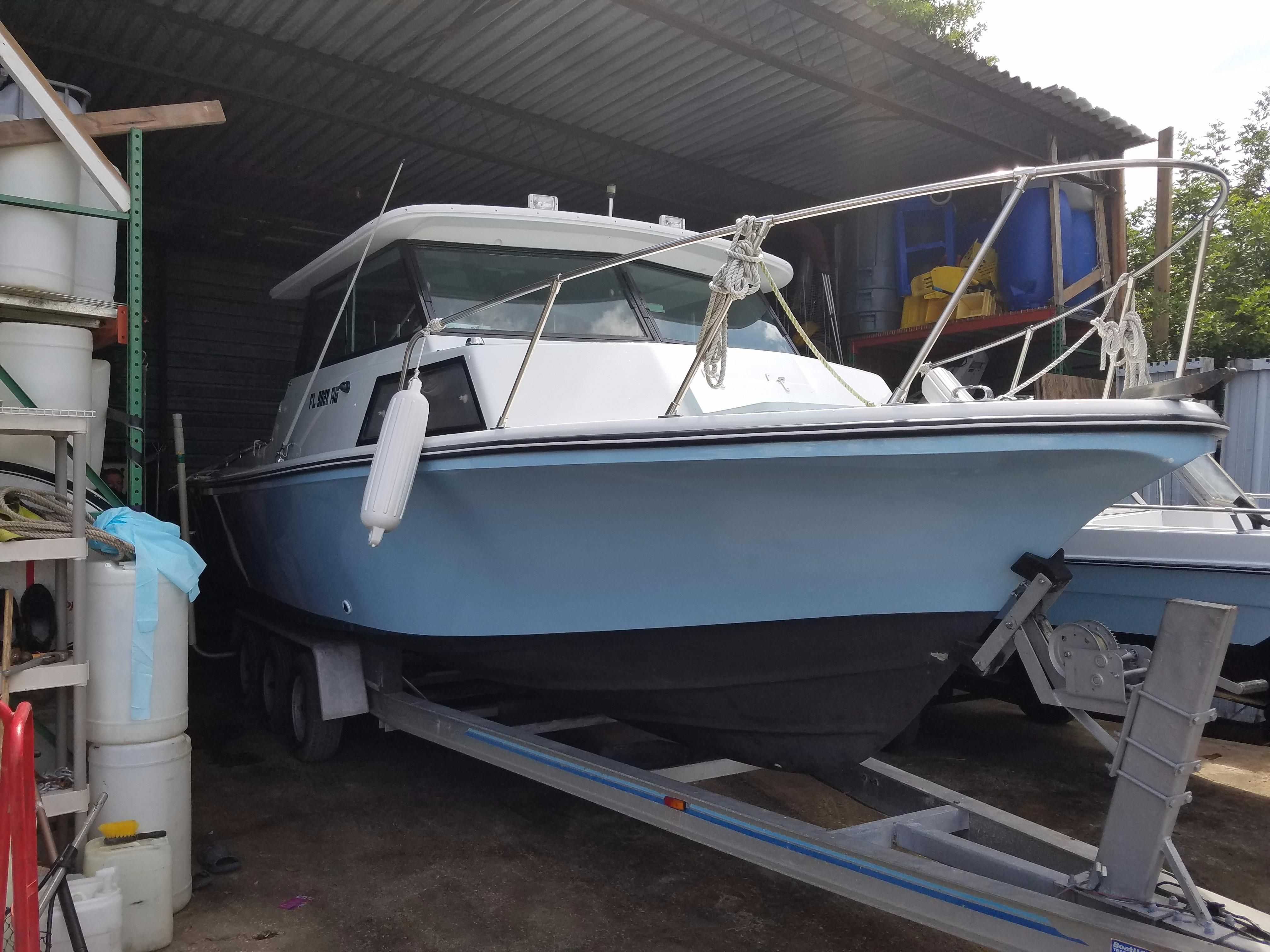 1976 Stamas 30 Pilot House Power Boat For Sale Www
