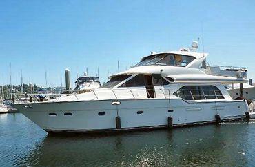 1998 Bayliner 5788 Pilot House Motoryacht
