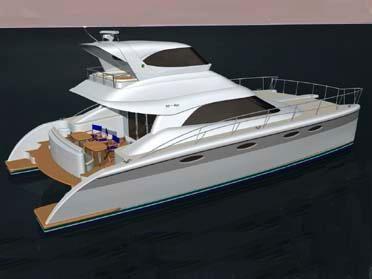 2011 Garry Lidgard NZL48 Power Catamaran