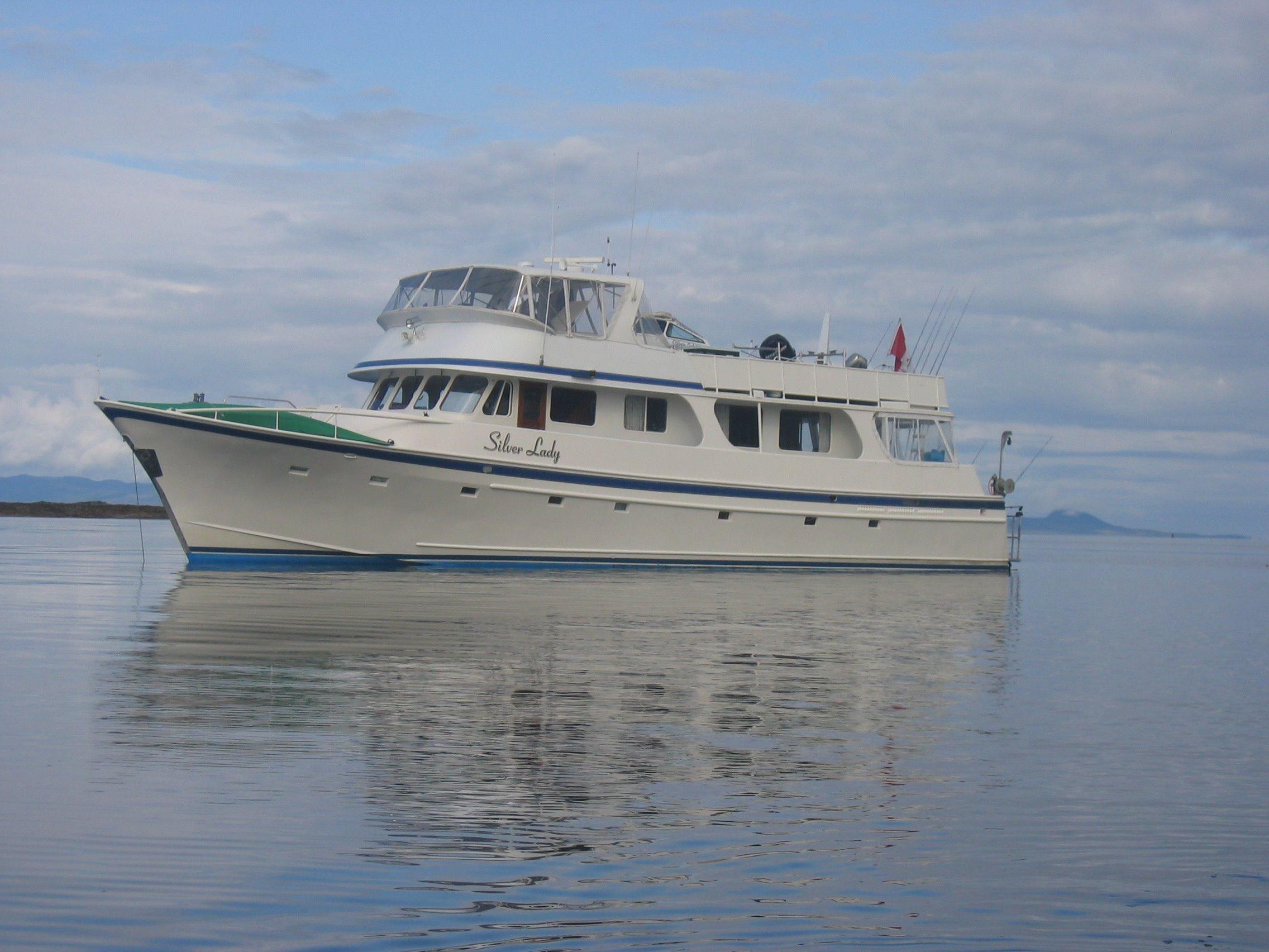 1969 Bill Garden Custom Pilothouse Power Boat For Sale