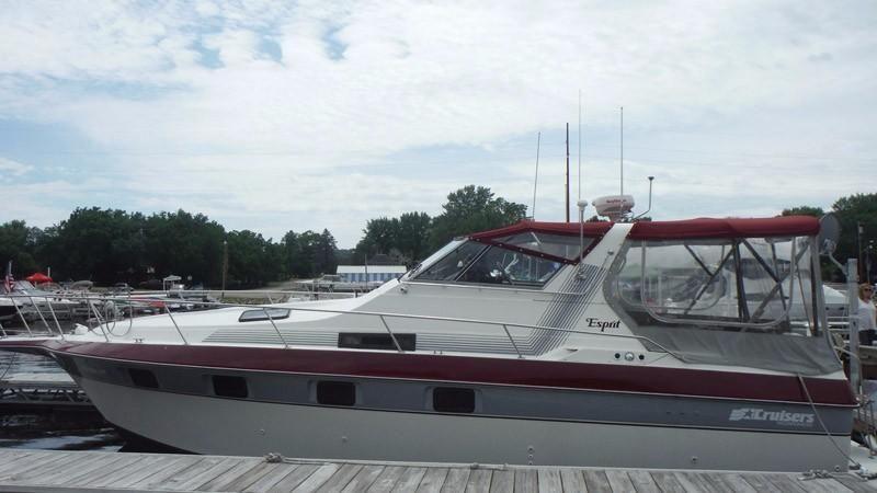 Used Cruisers 3370 Esprit Fiberglass Prices Waa2