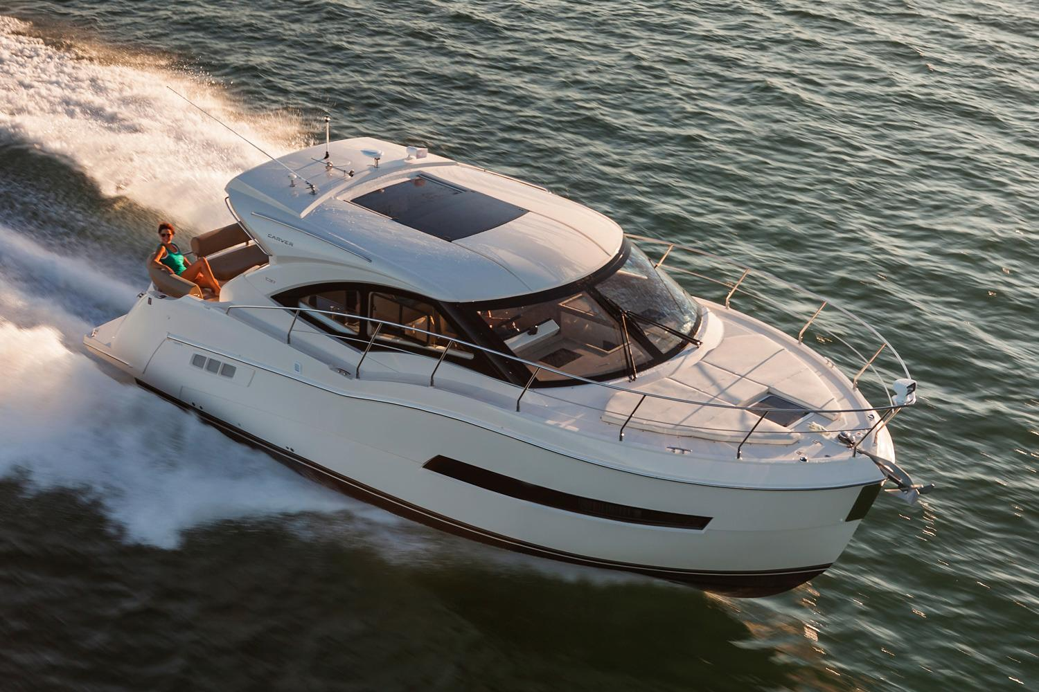 2018 Carver C37 Coupe Power Boat For Sale - www.yachtworld.com