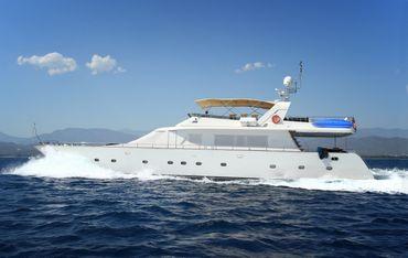 1994 Motor Yacht Custom steel yacht
