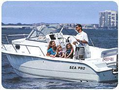 2003 Sea Pro 220 Walk Around