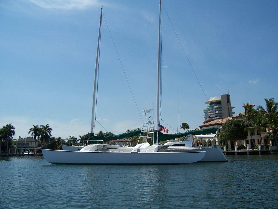 1989 Chris White Juniper 2 Trimaran Sail Boat For Sale - www