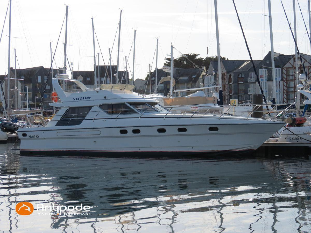 1991 princess 55 power boat for sale