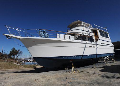 1986 gulfstar 49 motor yacht power boat for sale www for Denison motors denison tx