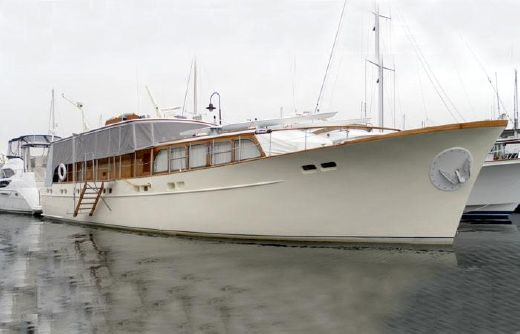 1960 Feadship Stabilized Steel Bridgedeck Pilothouse