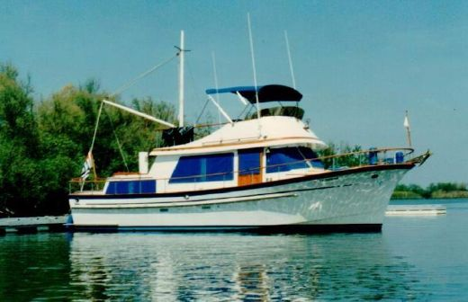 1978 Hershine Trunk Cabin Trawler