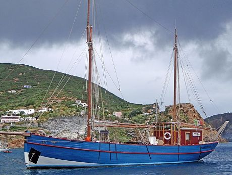 1927 Danish Gaff Ketch, 1927 J.Christoffersen Nordby Fanø