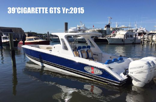 2015 Cigarette 39 GTS Performance Center Console