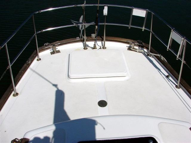 50' Windward Marine Sea Raker 50+View from the companionway