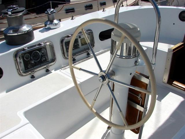 50' Windward Marine Sea Raker 50+View from the companionway
