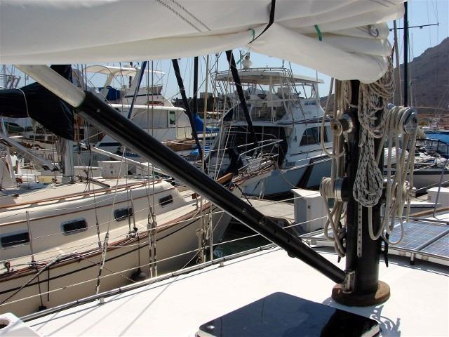 50' Windward Marine Sea Raker 50+Helm detail
