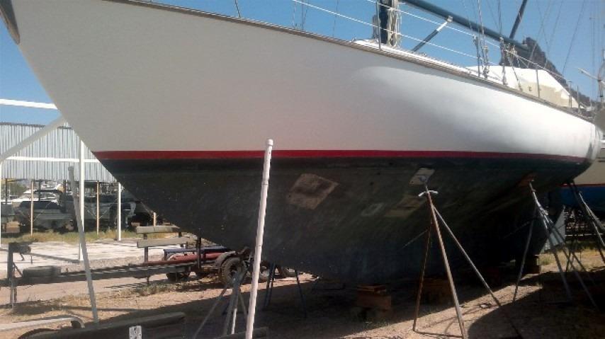 50' Windward Marine Sea Raker 50+Rudder detail-port