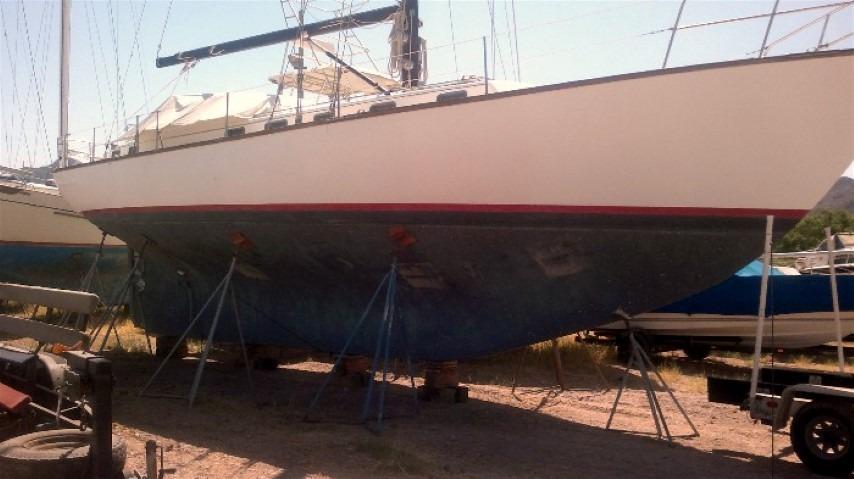 50' Windward Marine Sea Raker 50+Rudder detail-starboard