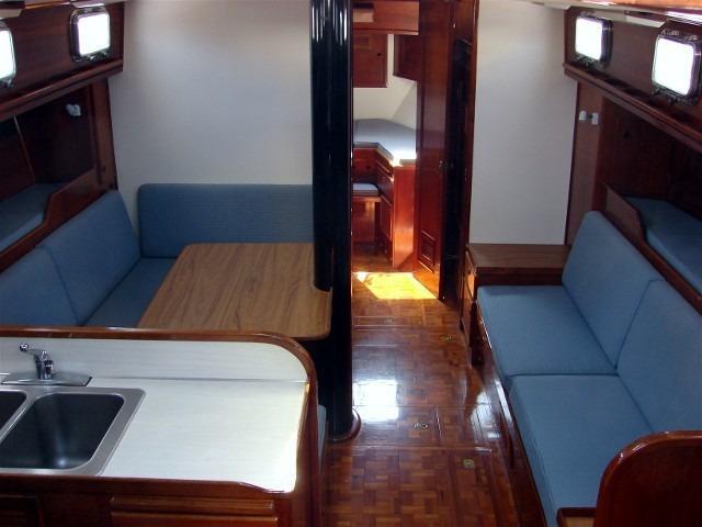 50' Windward Marine Sea Raker 50+Starboard settee