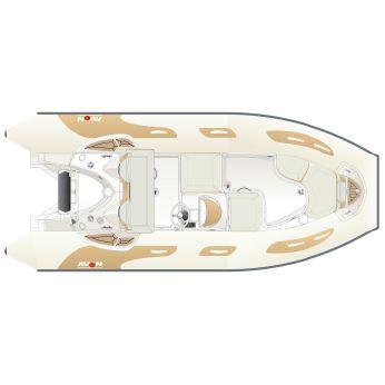 2018 Avon Seasport 490 DLX