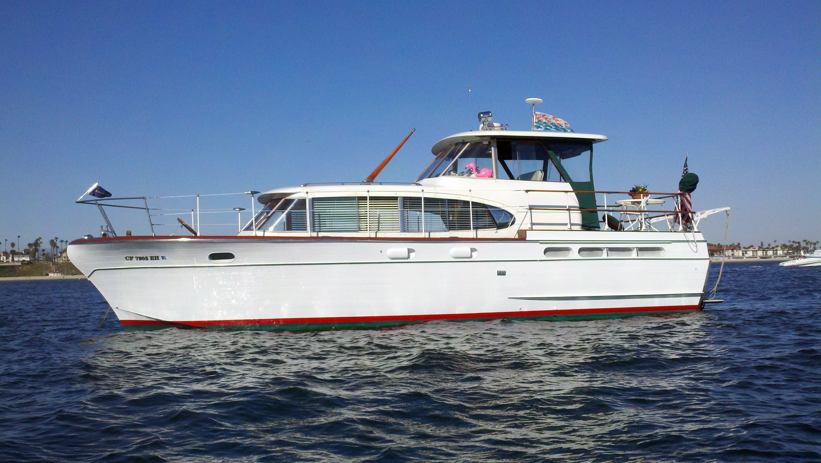 1958 chris craft 42 constellation power boat for sale for Chris craft boat club