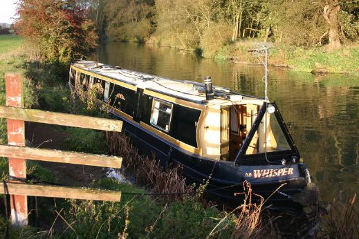 1999 Warble Tradstern 60' Narrowboat