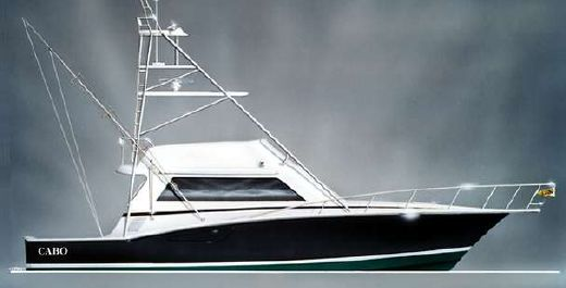 1998 Cabo Yachts 45 Flybridge Sportfisher